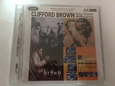 Clifford Brown - Four Classic Albums Brown And Roach Jam Session Study SEALED CD
