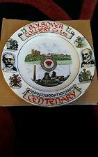 Edwardian china colliery plate Bolsover colliery co Ltd centenary