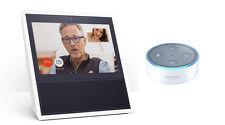 Amazon Echo Bundle (2 Items): Echo Show and Echo Dot (2nd Generation) – White