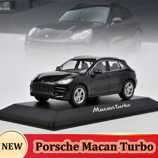 Minichamps 1:43 Porsche Macan Turbo Original Diecast Model Car Collectibles Toy