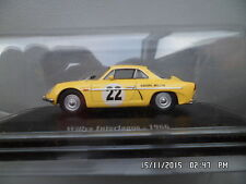 RENAULT ALPINE WILLYS INTERLAGOS 1966 ELIGOR 1/43   I49