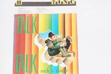 "TALK TALK -Such A Shame / Dum Dum Girl- 7"" 45 mit Product Facts Promo-Flyer"