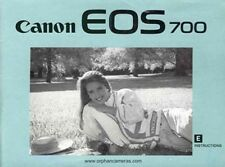Canon EOS 700 Reflex 35mm Appareil Photo Owners Instruction Manuel -canon-from