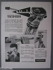 R&L Ex-Mag Advert: Schiansky Tripods, Johnson of Hendon