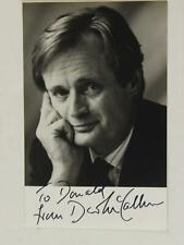 DAVID McCALLUM  (THE MAN FROM U.N.C.L.E.~NCIS) AUTOGRAPH 3 1/2 x 5 1/2 PHOTO~