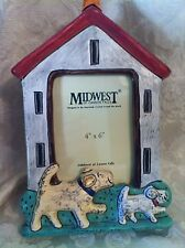 """Midwest of Cannon Falls Dog Doghouse 10"""" Photo Picture Frame 4"""" X 6"""""""
