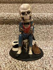 Very Rare : Retired Bethany Lowe Halloween : Calendar Skeleton Diagnosis : VHTF