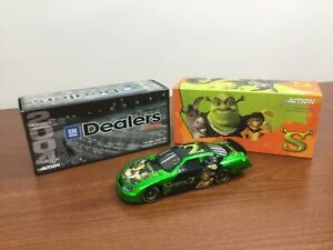 Action Diecast 2004 Monte Carlo Shrek 2 Program Car NASCAR 1 of 144 GM Dealers