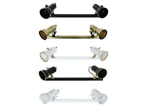 Track Light with 2 Adjustable Spot light For Ceiling - Wall LED Light