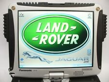 DEALER-LEVEL DIAGNOSTICS LAND ROVER & JAGUAR + RUGGED LAPTOP PANASONIC CF-19