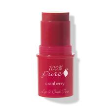 100% Pure: Fruit Pigmented Lip & Cheek Tint *Cranberry Glow* red lip cheek blush