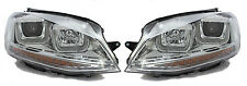 LHD VW Golf VII Mk7 2012+ Chrome Doble u Drl LED Proyector Faros