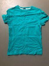 TOMMY HILFIGER - basic T-Shirt in türkis grün  - *K15  Gr 122 3292f