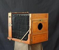stunning!! Antique 10x12 Field Camera Holzkamera Vageeswari 25x30 ULF wet plate