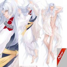 Pillow Case Anime Sesshoumaru Inuyasha Otaku Hugging Body Pillow 50*150cm