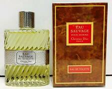 Christian Dior Eau Sauvage  EDT 50ml Splash ( No Spray)  OLD FORMULA New & Rare