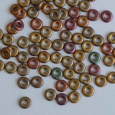 O granos dorado cristal Matt se reunió Bronce Cuentas checas de vidrio B 00030-01620 X 5g
