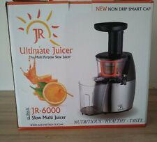 JR Ultra 6000 Slow Masticating Juicer.