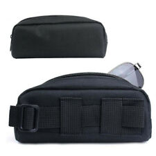 Tactical Molle Sunglasses Case Eyeglasses Bag Outdoor Travel Glasses Pouch Black