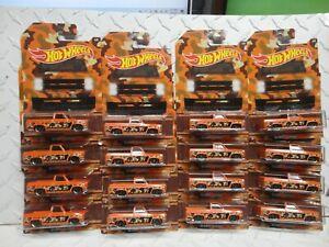 Hot Wheels  Lot of (16) Camoflage Orange '83 Chevy Silverado Pickups