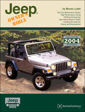 Jeep Cj Jeepster Wrangler Cherokee Owner'S Bible Technical Reference Manual Book