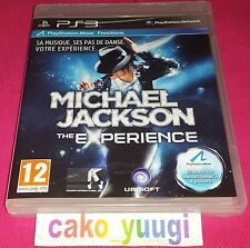 MICHAEL JACKSON THE EXPERIENCE SONY PS3 NEUF SOUS BLISTER VERSION FRANCAISE