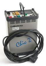 Elinchrom Chic 2 studio flash pack 2400 WS output (Symetrical) and lead