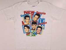 New Kids On The Block Vintage T-Shirt 1989 Retro 2-Sided Large 1990s Nkotb Shirt