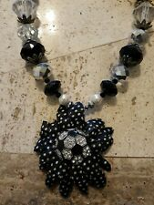 Soccer Beaded Necklace