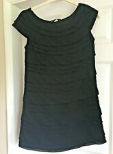 Ladies Little Black Dress French Connection Christmas Shift Dress Party Size M