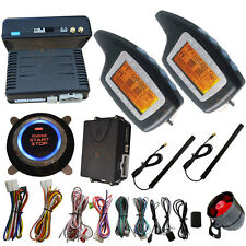 passive car alarm system keyless go and auto engine ignition push start stop