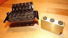 Floyd Rose Special tremolo big brass sustain block ONLY bridge upgrade