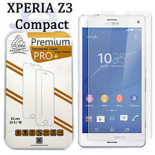 Genuine Gorilla Tempered Glass Shield LCD Screen Protector for Xperia Z3 COMPACT