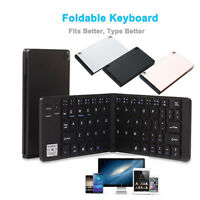 Portable Folding Ultra-slim Wireless Bluetooth Foldable Keyboard For IOS/Android