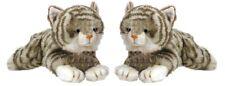 *BRAND NEW* KORIMCO KITTY JADE GREY CAT SOFT PLUSH TOY 32CM /13 INCHES