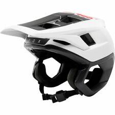 Fox Racing Dropframe Helmet - White/Black - S