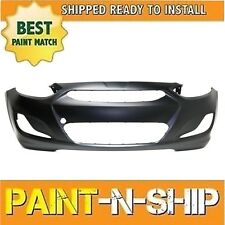 Fits 2014 2015 2016 2017 Hyundai Accent Sedan Front Bumper Painted HY1000201