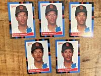 Lot of (5) HOF Roberto Alomar Donruss 88' Rookie Cards #34 San Diego - FREE SHIP