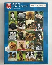 Jumbo  PICK A FRIEND - Puppies  - 500 Piece Jigsaw Puzzle by Keith Kimberlin