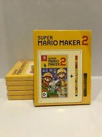 Super Mario Maker 2 Stylus Pack Nintendo Switch Brand New Sealed