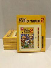 Super Mario Maker 2 Stylus Pack Nintendo Switch Brand New Sealed