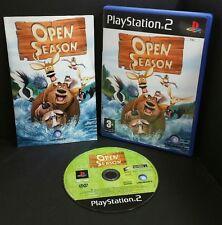 Juego de temporada abierta (Sony Playstation 2, 2006) PS2 y 60gb PS3 compatible