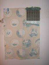 """Lee Joha GP & J Baker """"Porcelain"""" Oriental plates theme remnant color aqua"""