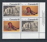Canada #579i LR PL BL Missing Medallion Variety MNH **Free Shipping**