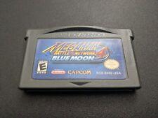 Mega Man Battle Network 4 Blue Moon Nintendo Game Boy Advance NRMT authentic