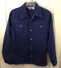 Vintage Youth Sears Put On Shop Blue ToughSkins Leisure Jacket coat size 16 33