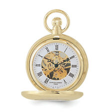 Charles Hubert Gold Finish Pocket Watch XWA612