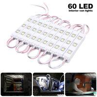 Kit Intérieur 60 LED Voiture 12v éclairage lumière Bateau Caravane Van Camper