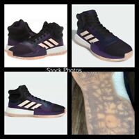 NEW Adidas Marquee BOOST G27739 Men's Shoes Sneakers 11 Purple Pink Basketball
