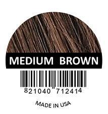 Samson Best Hair Loss Concealer Building fiber refill 50gr MEDIUM BROWN made USA